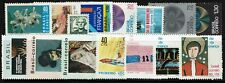 Brazil 15, 1971 stamps, Mint Hinged, most Hinge Rems, minor faults - Lot 091017