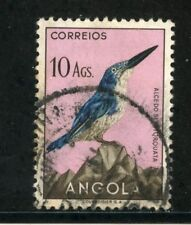 1951 - ANGOLA - 10 Ag. UCCELLI - USATO - LOTTO/29017