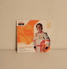ROMAIN GROSJEAN F1 DRIVER POSTCARDS  ING RENAULT 2009