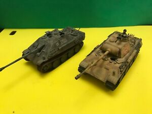 1:72 scale model German Tanks Superb Professionally Built and Decorated