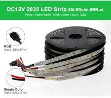 LED Strip 2835 5050 DC12V Flexible LED Light 5m 300LEDs LED Light