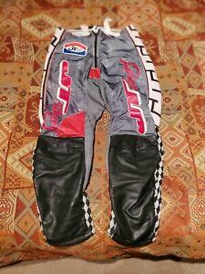 RARE Vintage JT Racing Bad Boy Rick Johnson Motocross 32 Pants paintball bmx red