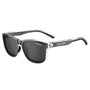 Tifosi Swank Single Lens Sports Eyewear Onyx Clear/Smoke