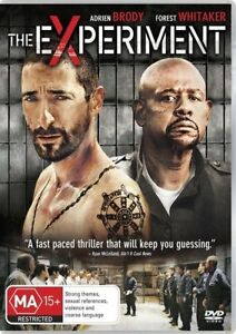 Experiment DVD Adrien Brody Forest Whitaker 201 PRISON MOVIE