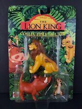 Disney Lion King Simba Timon Pumbaa Collectible Mattel Action Figure Set NEW 🦁