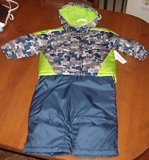 NWT Toughskins Snowboarding Ski Jacket Ski Bib Snow Pants Snowsuit Set 18 Months