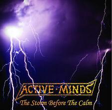 "ACTIVE MINDS - ""The Storm Before The Calm"" 7"" EP. UK political punk"