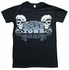 Bravado THE BOYS ARE BACK IN TOWN Written by P.Lynott Skull Totenkopf T-Shirt S