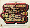 LP Country Strings And Voices Play The Great Hits Of Hank Williams NEAR MINT