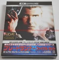 New Blade Runner Final Cut Limited Edition 4K ULTRA HD & Blu-ray Japan