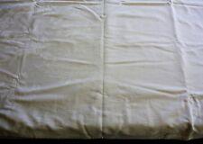 Vintage/Estate Large Cotton Damask Hemmed Tablecloth Floral Motif 265 X 167Cm