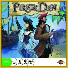 Crash Games Boardgame Pirate Den Family Bluffing Card Game