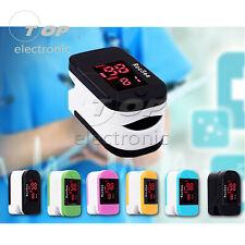 OLED Finger tip Pulse Oximeter Blood Oxygen meter SpO2 Heart Rate Monitor