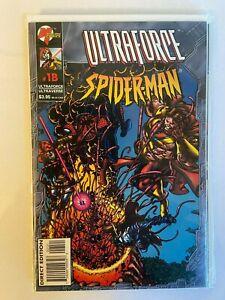 Ultraforce Spider-Man #1B 1996 Malibu Comics VF/ NM