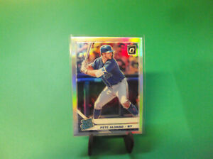 PETE ALONSO 2019 DONRUSS OPTIC #82 SILVER PRIZM  RC CARD METS