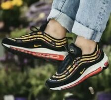 Nike Air Max 97 se Damas Negras/Universidad oro Vela BV0129-001 UK 5 EU 38.5