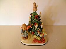 "1998 tWO PC GOEBEL MUSIKFEST CHRISTMAS SURPRISE ""O CHRISTMAS TREE"" LITTLE GIRL"