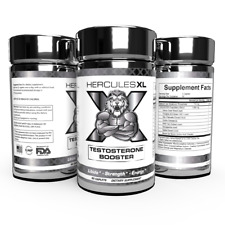 Lot of 2 Testosterone Booster Energy Endurance & Libido Booster Natural 120 caps