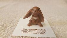 Hagen Renaker Rabbit Lopear Figurine Miniature Nice Gift New Free Shipping 00861