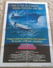 THE FINAL COUNTDOWN MOVIE POSTER 1 Sheet ORIGINAL 1980 FOLDED 27x41 KIRK DOUGLAS