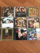 Christian Gospel Pop Poema Lonestar Three Crosses Echoes The Fall Lot Of 9 Cd's