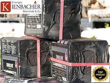 """20kg UNION Braunkohlebrikett """"ToGo"""" im 10kg Bag (Brix Gluthalter Kohlebriketts)"""