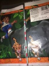 Dora The Explorer Diego Plastic Table Cover Kids Birthday Parties New