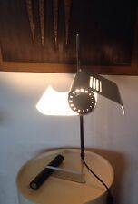 Rare Grande Lampe Papillon  De Bureau Design 70 Metal Acier Chromé Joe Colombo