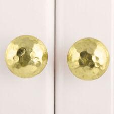 Hammered Gold Metal Cupboard Door Handle | Brass Cabinet Door Knob Pull Style 10