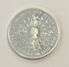 1980 The 80th Birthday of Queen Mother UK Crown - Sterling Silver Proof Coin
