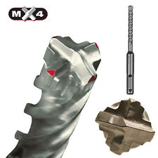 Milwaukee Hammer Drill Mx4 Sds-plus 4 Cutting Bit Concrete Stone Natural Stone 25 Mm 200 X 250 Mm