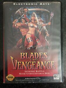 SEGA Genesis- Blades Of Vengeance Tested & Working