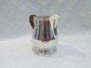 Vintage silver-plated gallia christofle creamer / milk jug vendome shells