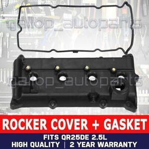 Valve Rocker Cover + Gasket For Nissan X-Trail T30 T31 XTrail QR25DE 2.5L Rogue