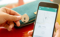 TrackR Bravo - Key Tracker, Phone Finder, Wallet Locator, Generation 2, Silver
