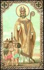 SANTINO HOLY CARD IMAGE PIEUSE - SAN PETRONIO - VESCOVO DI BOLOGNA