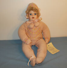 """World Gallery Porcelain Doll 20"""" To Grandmother's House We Go """"Cadee"""""""