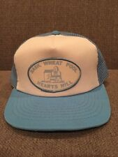 Vintage Saskatchewan Wheat Pool Hearts Hill Trucker Hat Mesh Snap Back SK Canada
