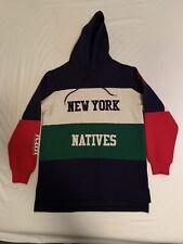 Kith New York Natives Ronnie Fieg 1996 Collection Block Hoodie Indian Sweatshirt