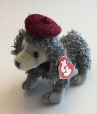 "Ty Beanie Babies Attic Treasures Collection, ""Cheri""~French Poodle Mwmt"