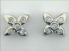 Diamond Earrings 18k WG w/0.44ct Round Diamonds