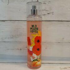 NEW Bath & Body Works WILD PEACH POPPIES  Fragrance Spray Mist RARE Signature