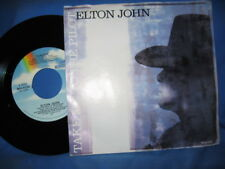 Elton John 45 Take Me To The Pilot bw Same    MCA