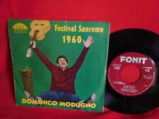 DOMENICO MODUGNO Libero + Nuda 45rpm 7' + PS 1960 ITALY MINT-