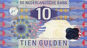 Netherlands 10 Gulden 1997 P-99