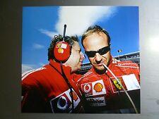 2004 Ferrari GP of Spain Rubens Barrichello Formula 1 Print Picture Poster RARE!