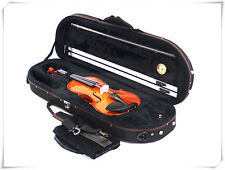4/4 Violin+Half Moon Case+Bow+Rosin+Free String set-BKH