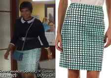 NWT $248 kate spade new york 'judy' check plaid pencil skirt sz 8