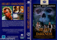 "VHS - "" Heart of DARKNESS ( Herz der Finsternis ) "" (1994) - John Malkovich"