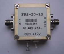 Frequency Divider 0.1-13.0GHz Div 20, FPS-20-13,New,SMA